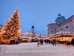 Salzburg Christmas Market Map.Salzburg Christmas Markets 2019